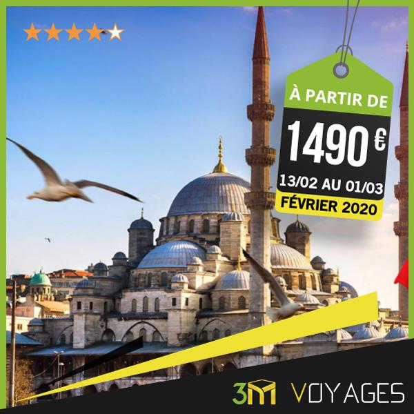 Omra Combiné Istanbul Février 2020